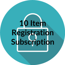 Register Your Copyright – 10 Separate Items