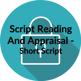 Script Reading and Appraisal – Short Script
